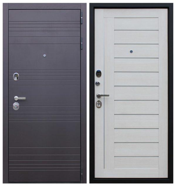 Дверь в квартиру с тремя контурами уплотнения СП158