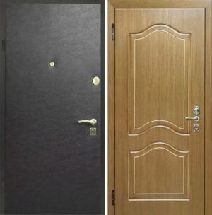 Входная металлическая дверь винилискожа снаружи и МДФ СП018