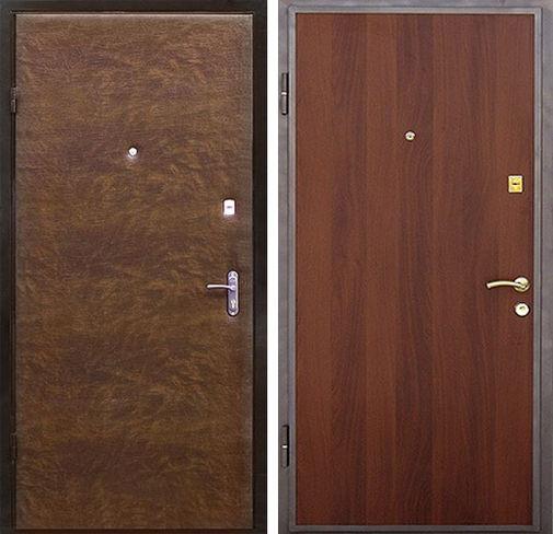 Входная металлическая дверь винилискожа и ламинат СП292